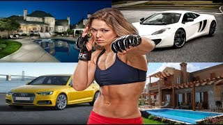 Ronda Rousey's Biography ★ Net Worth ★ House ★ Cars ★ Income ★ Bike ★ Pets