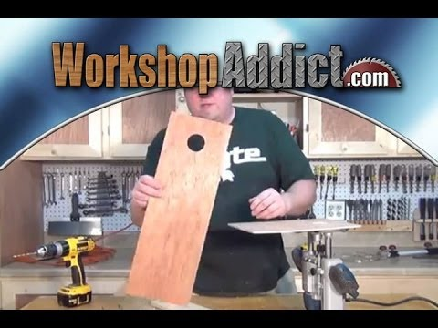 Woodworking Router Circle Jig