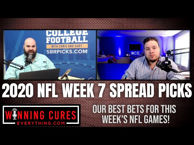NFL 2020 Week 7 Best Bets Picks Against the Spread!