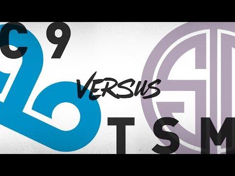 C9 vs. TSM | Semifinals Game 1 | NA LCS Summer Playoffs | Cloud9 vs. TSM (2018)