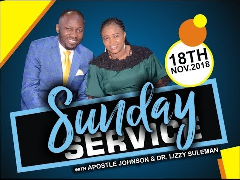 Sun. Service 18th Sept. 2018 Live with Apostle Johnson Suleman thumbnail