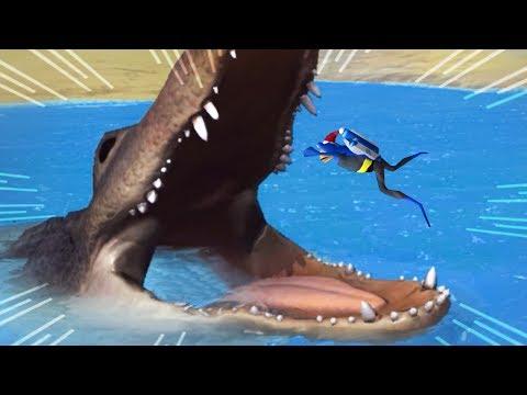 NEW Giant Alligator! - Amazing Frog New Christmas Update Part 183 | Pungence