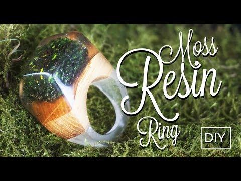 MOSS Resin Ring DIY
