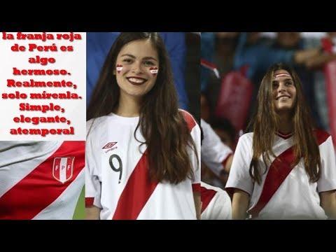 Prensa estadounidense declaró camiseta de Peru La mas linda del mundo 🇵🇪
