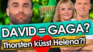 Dschungelcamp 2016 - Tag 7: Davids BLUMEN-FETISCH, Menderes SINGT, Helena GEWINNT!