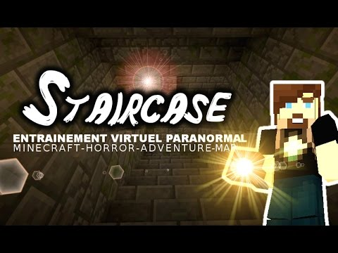 "E.V.P. : ""Les Escaliers"" - Minecraft Horror Map - Gussdx, hd,fr"
