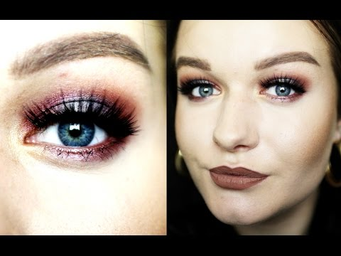FALL HALO SMOKEY EYE ll MAKEUP TUTORIAL