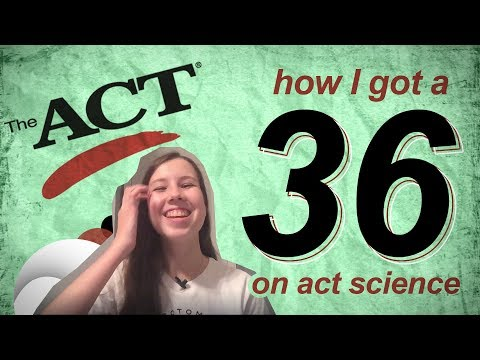 MY #1 ACT SCIENCE TIP (HOW I GOT A 36)