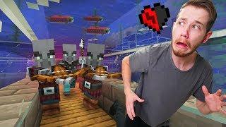 My Underwater Village got Raided! | Minecraft