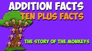 Addition Facts Song- Ten Plus Facts- It's not Five-Teen!