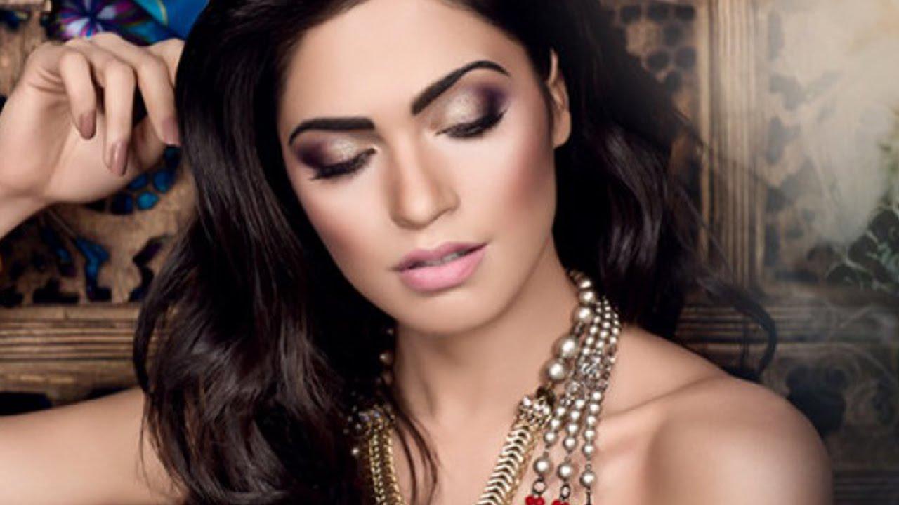 Arapski stil šminkanja - YouTube