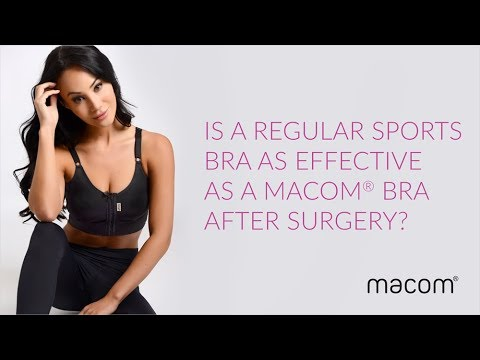0d06e51ec5dba Is a regular sports bra as effective as a macom® bra after surgery ...
