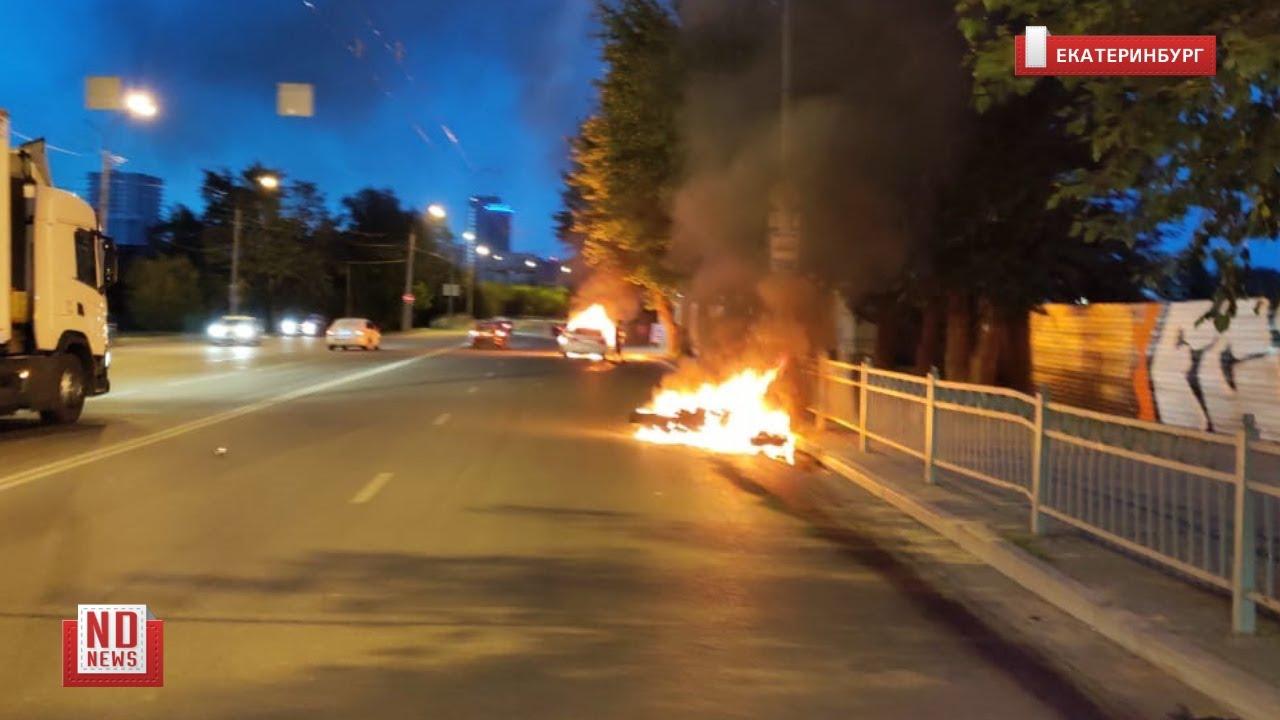 Пьяный на «Мерседесе» насмерть сбил мотоциклиста