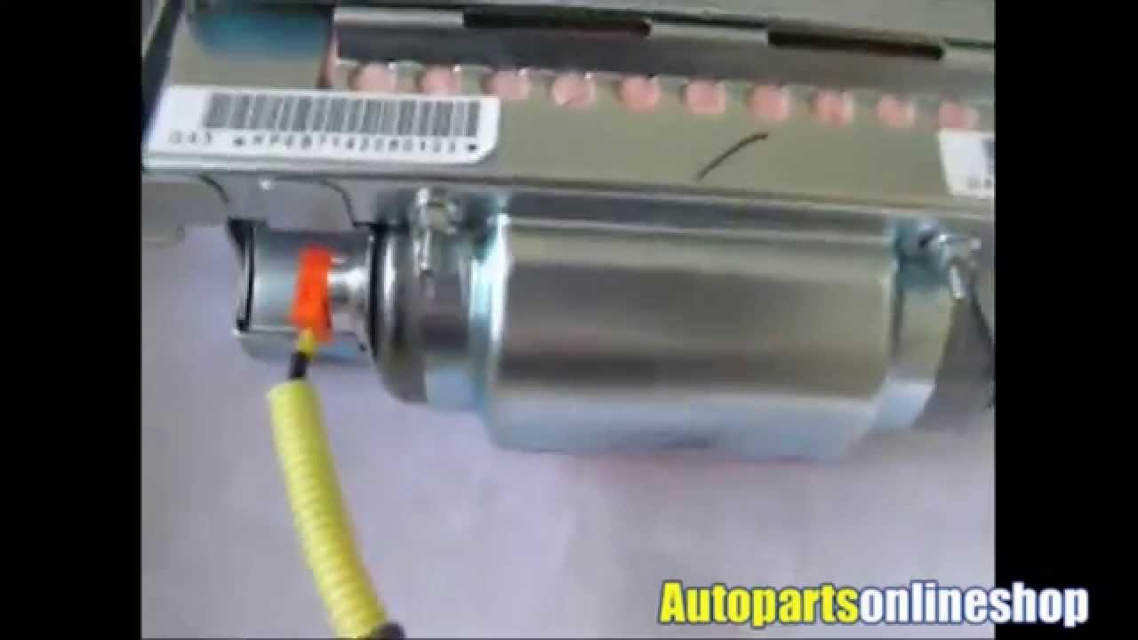 Nissan Navara Passenger Airbag - YouTube