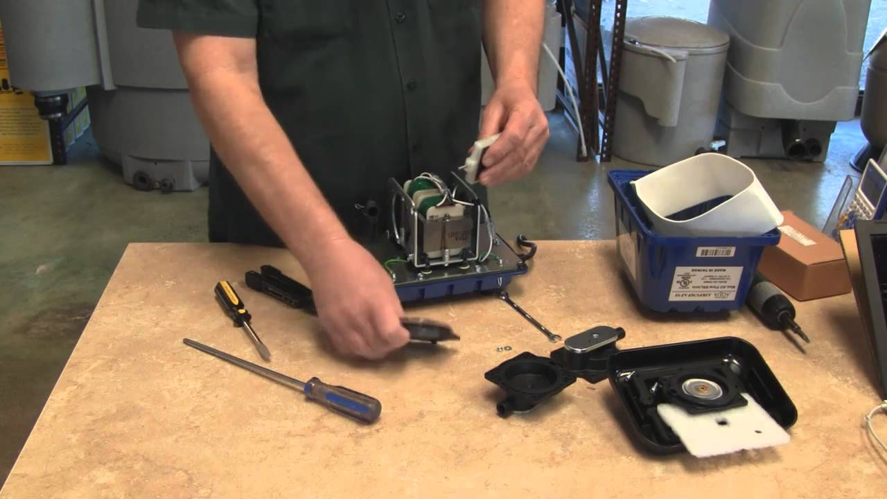 Changing the diaphragms on your air pump