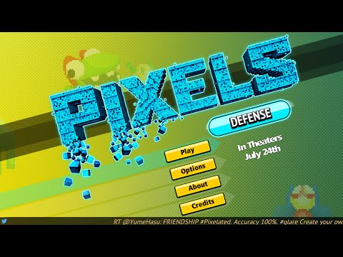 PIXELS Defense - Android Gameplay HD