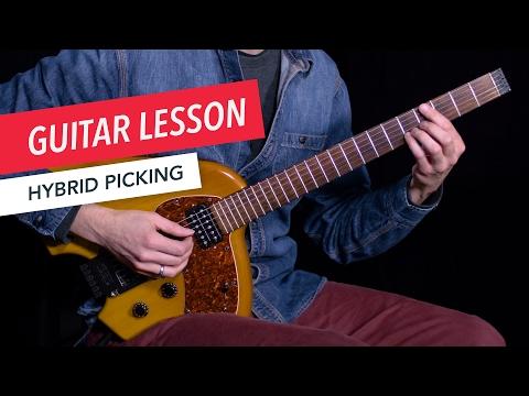 Learn How to Use Hybrid Picking | Guitar | Lesson | Beginner | Tim Miller | Berklee Online