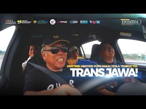 Disetirin Menteri PUPR Naik Tesla di Tol Trans Jawa! (EPS.1)