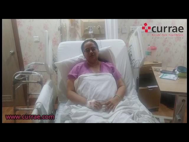 Pt. Gauri Vilekar Partial Knee Replacement done by Dr. Shailendra Patil | Currae Hospitals