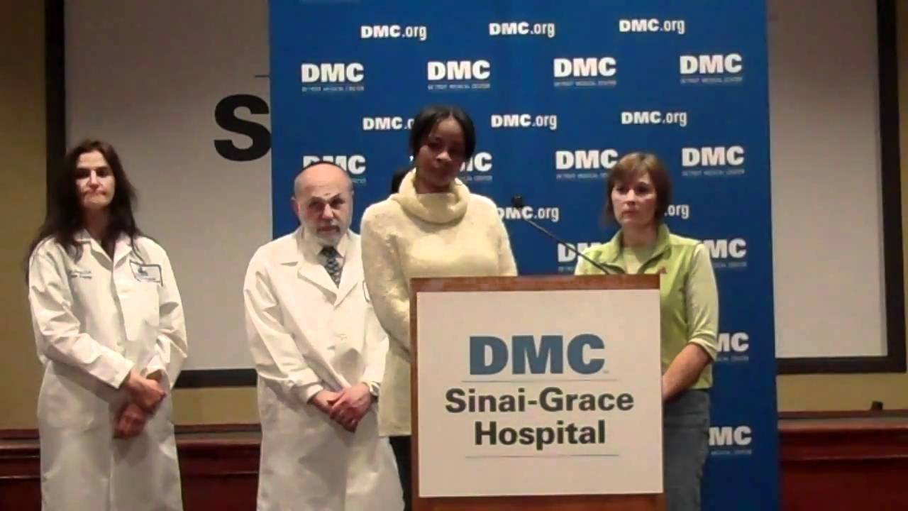 Press Conference on Injured Detroit Police Officers at DMC Sinai-Grace  Hospital - Jan 25th, 2011