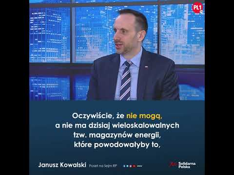 Jeżeli ktoś uważa, że lepszy jest rosyjski gaz od polskiego węgla, to ja mówię zdecydowane
