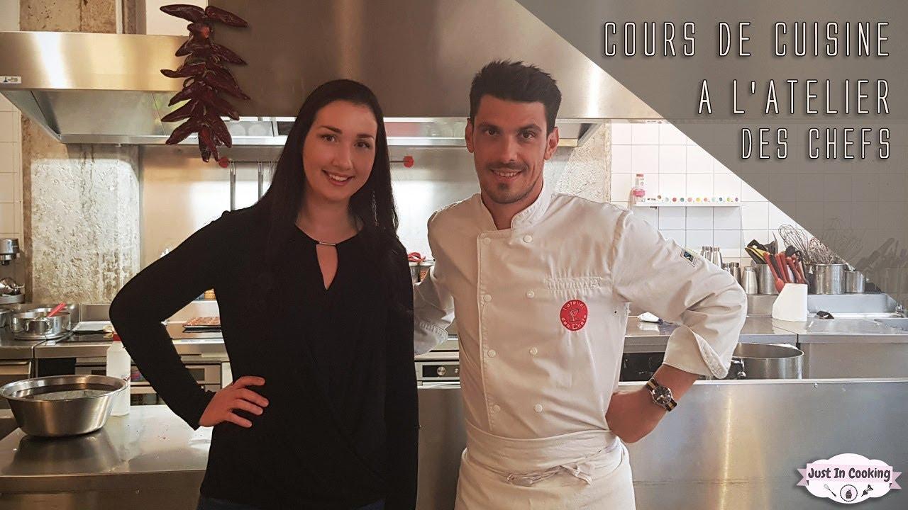 VLOG : Cours de Cuisine à l'Atelier des Chefs à Lyon !