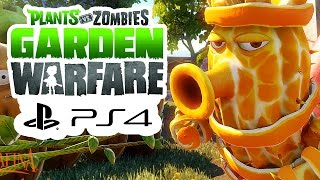 Plants vs Zombies Garden Warfare - NOW ON PS4 - Gameplay Walkthrough Review