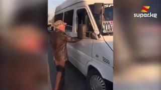 Бишкекте маршруттук таксинин айдоочусу улгайган адамды унаасына салбай кетип, сынга алынды