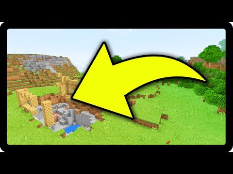 Minecraft PE: OLHA O QUE O HEROBRINE FEZ !!! - Em Busca do Herobrine #9