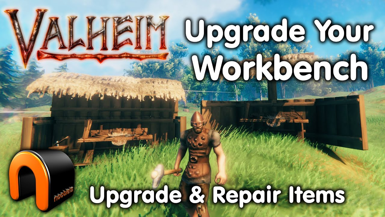 Valheim How To Upgrade The Workbench Valheim Youtube