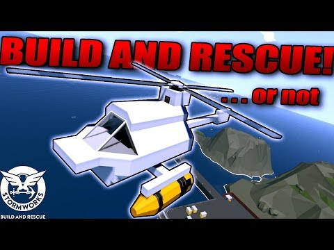 NEW SEA-BASED VEHICLE BUILDING GAME! - Stormworks: Build And Rescue Gameplay First Look