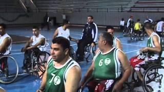 فاز فريق أسفي بالبطولة الوطنية لكرة السلة على الكراسي المتحركة