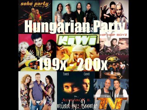 ☆☆☆ 90's Házibuli Mix Magyar Dance Megamix  / Boomer - Hungarian Party 199X - 200X ☆☆☆