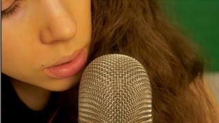 ASMR Counting and Kisses with Mouth Sounds