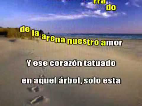 AMOR DE ARENA karaoke