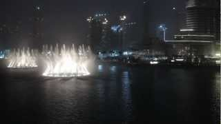 Dubai Fountains: Jacky Cheung - Wen Bie (Kiss Goodbye)