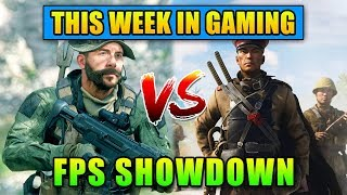 Call of Duty VS Battlefield - This Week In Gaming | FPS News