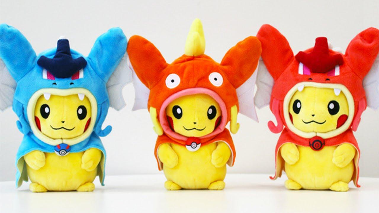 43e49be0 Merch Week #23: Poncho Pikachu Plushies, Eeveelution Time - YouTube