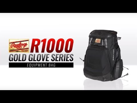 Rawlings R1000 Gold Glove Series Backpack Video/Review
