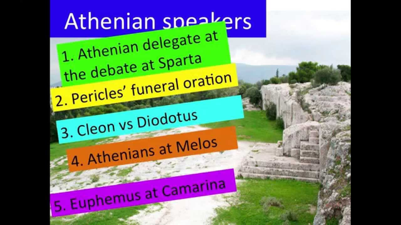 melian dialogue An athenian general by the name of thucydides was exiled out of athens for losing a battle in about 500 bce after he left the city, he wrote about the dialogue between melos and athens called the melian dialogue.
