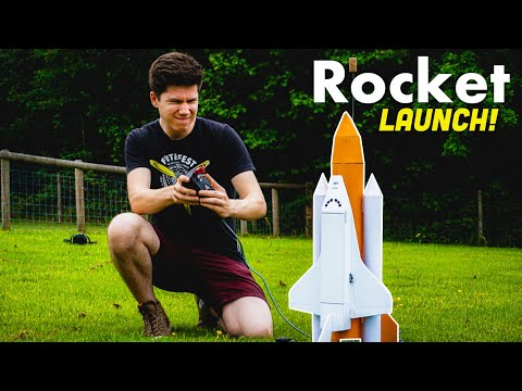 RC Space Shuttle LAUNCH