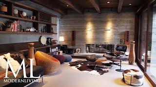 モダンリビング・ムービー「異なる素材の調和を楽しむ家」