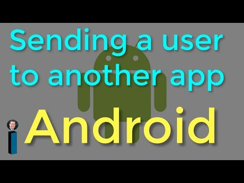 Sending A User To Another App - Getting Started With Android Development