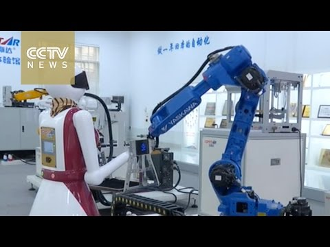 Robot production affordable for smaller factories in China's Guangdong Province