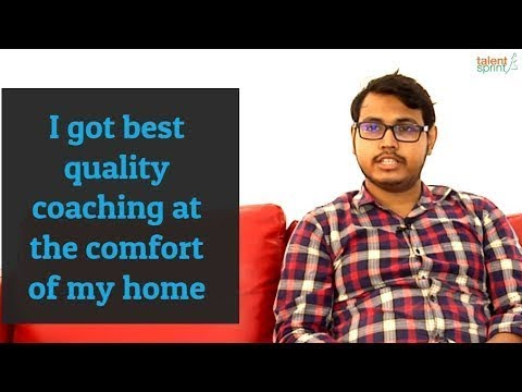 I got best quality coaching at the comfort of my home.