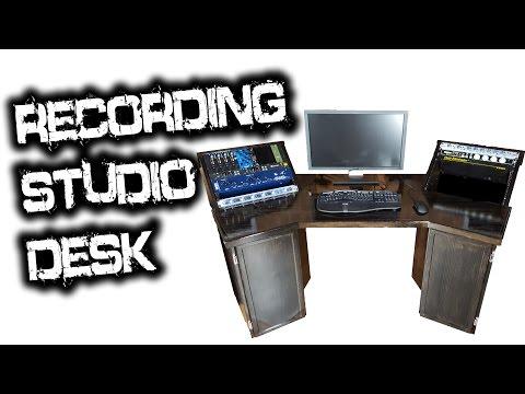 Recording Studio Desk (for Glenn Fricker)