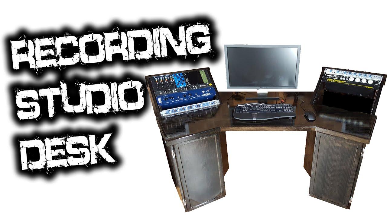 Recording Studio Desk for Glenn Fricker