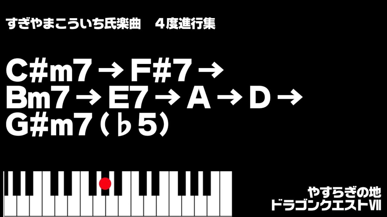 【ドラクエほか】すぎやまこういち氏楽曲 4度進行集 Koichi Sugiyama Circle of fifths