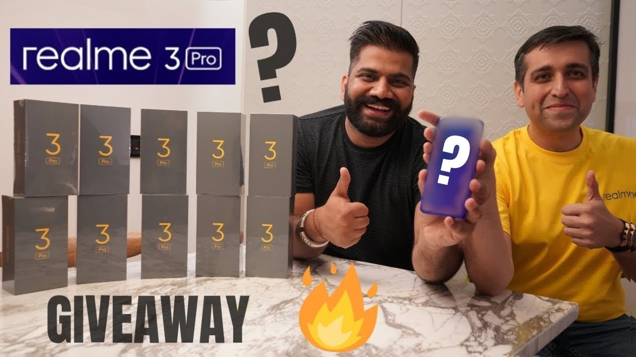 Realme 3 Pro Unboxing Video 2019 Leaked By Indian YouTuber