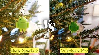 Sony Xperia 5 versus OnePlus 7 Pro camera comparison